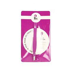 Plic Epileerpincet Schuin Violet 1 Stuk