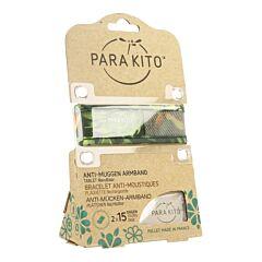 Parakito Anti-Muggen Armband Tropical + 2 Navullingen