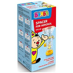 Bumba Aerosol Chamber Spacer 175ml + Masker Baby/Kind