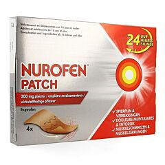Nurofen Patch 200mg 4 Pleisters
