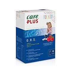 Care Plus O.R.S. Kids Framboos 10 Zakjes