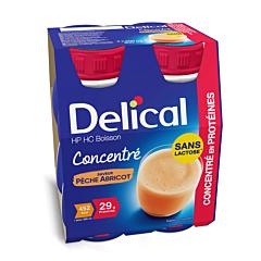 Delical Geconcentreerde Drink HP-HC Perzik/ Abrikoos 4x200ml