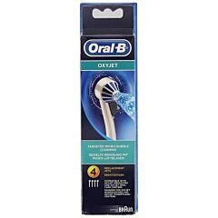 Oral-B Aquacare Oxyjet Spuitkoppen Refill 4 Stuks