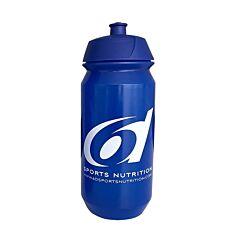 6D Sports Nutrition Blauwe Drinkfles 500ml 1 Stuk