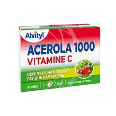 Alvityl Acerola 1000 Vitamine C 30 Kauwtabletten