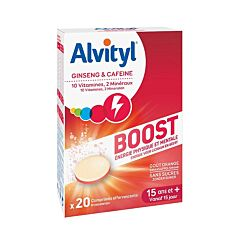 Alvityl Boost 20 Bruistabletten