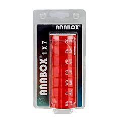 Anabox Pildoos Week Rood 1 Stuk
