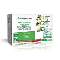 Arkofluides Bio Afslankprogramma 30x15ml Ampoules