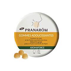 Pranarôm Aromaforce Keel Verzachtende Gommen Honing/ Citroen 45 Stuks