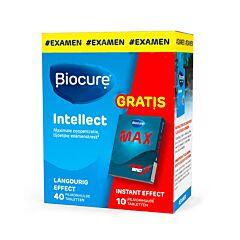 Biocure Long Action Intellect Student 40 Tabletten Promo + GRATIS Biocure Max Instant 10 Tabletten