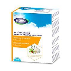 Bional Knoflook-Maretak-Meidoorn-Vitamine E 200 Capsules