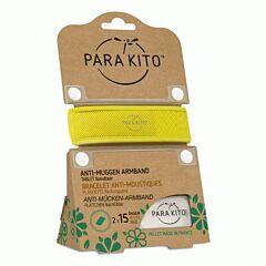Parakito Anti-Muggen Armband Geel + 2 Navullingen