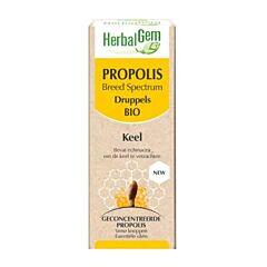 HerbalGem Propolis Breed Spectrum Druppels Bio 15ml