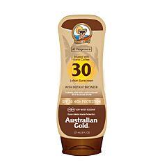 Australian Gold Zonnebrandcrème Met Bronzer SPF30 237ml