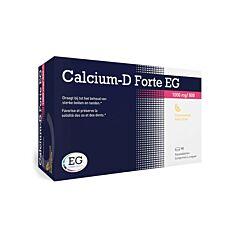 Calcium-D Forte EG 1000mg/800 I.E. Citroen 90 Kauwtabletten