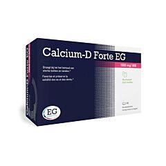 Calcium-D Forte EG 1000mg/800 I.E. Munt 90 Kauwtabletten
