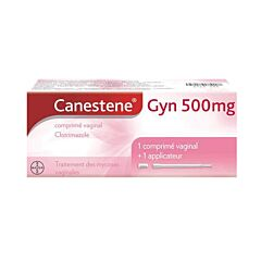 Canestene Gyn 500mg 1 Capsule Vaginaal Gebruik + Applicator