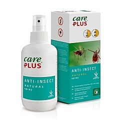 Care Plus Anti-Insect Natural Spray Zonder DEET 200ml