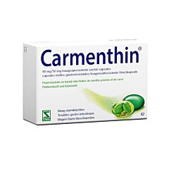 Carmenthin 90mg/50mg 42 Zachte Capsules