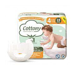 Cottony Katoenen Luiers - Maat 4 - 28 Stuks
