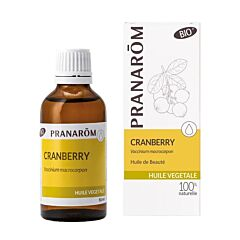 Pranarôm Cranberry Bio Plantaardige Olie 50ml