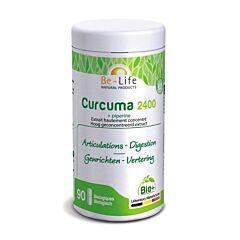 Be-Life Curcuma 2400  + Piperine 90 Capsules