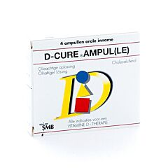 D-Cure 25.000 I.E. 4 Ampullen