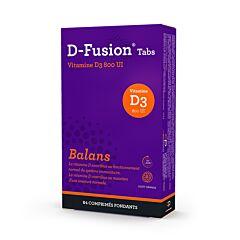 D-Fusion Balans 800IE 84 Smelttabletten