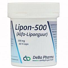 Deba Pharma Lipon 500mg 60 V-Capsules