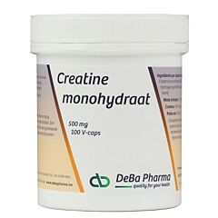 Deba Pharma Creatine Monohydraat 500mg 100 V-Capsules