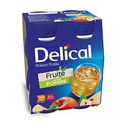 Delical Fruitdrink Appel 4x200ml