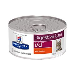 Hills Prescription Diet Digestive Care I/D Kattenvoer Kip 156g