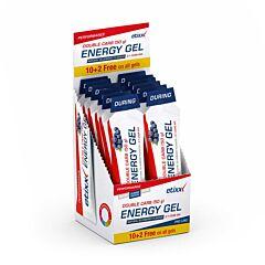 Etixx Double Carb Pro Line Energy Gel - Bosbes 12x60ml