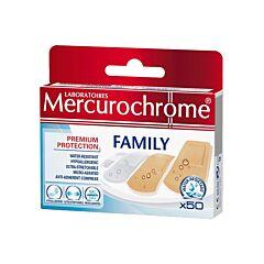 Mercurochrome Family 50 Pleisters