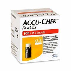 Accu-Chek Fastclix Lancetten 102 Stuks