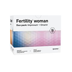 Fertility Woman 60 Improvum Tabletten + 60 Omarin Softgels