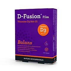 D-Fusion Film Balans 800IE Orodispergeerbare Films 28 Stuks
