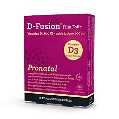 D-Fusion Film Folic Pronatal Orodispergeerbare Films 28 Stuks