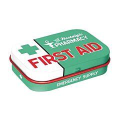First Aid Kit Pepermuntdoosje - Groen 15g