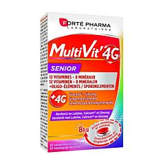 Forté Pharma Multivit 4G Senior 30 Tabletten