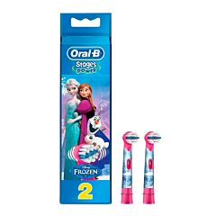 Oral-B Opzetborstel Stages Power Frozen 2 Stuks