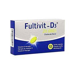 Fultivit-D3 20000IE 12 Zachte Capsules