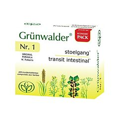 Grünwalder Nr.1 Stoelgang 100 Tabletten