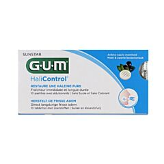 Gum HaliControl 10 Tabletten