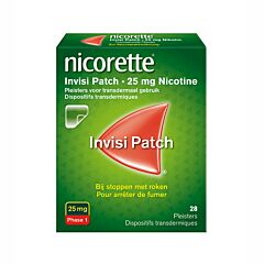 Nicorette Invisi Patch 25 Mg 28 Pleisters