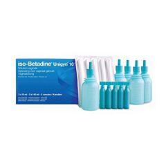 Iso-Betadine Unigyn 10% Oplossing Vaginaal Gebruik 5 Monodoses + 5 Canules