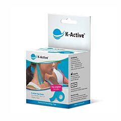 Naqi K-Active Tape Blauw 5,0cmx5m 1 Rol