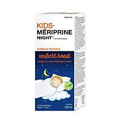 Kids Meriprine Night Siroop Droge & Vastzittende Hoest 180ml