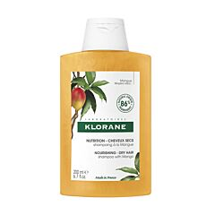 Klorane Shampoo Mango - Droog Haar 200ml NF