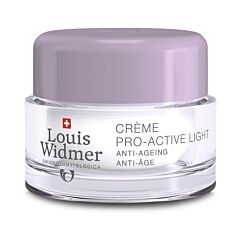Louis Widmer Pro-Active Light Nachtcrème Met Parfum 50ml